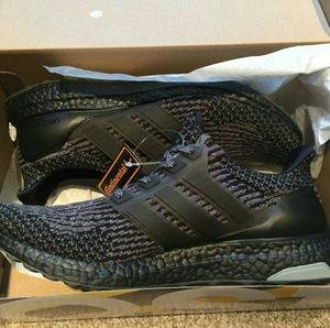 Adidas Ultraboosts Triple Black NMDs